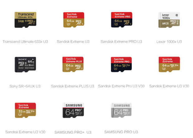 What are the requirements for my microSD card? – YI Technologies, Inc